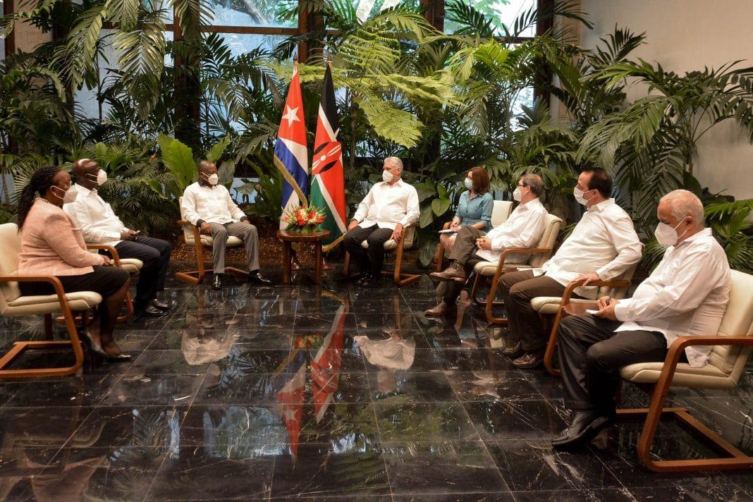 Encuentro Cuba-Kenia