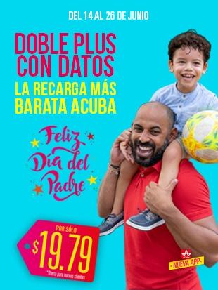 ¡La Recarga con Datos más barata aCuba! Del 14 de junio al 26 de junio ¡en Cuba recibirán 1300 CUP + 1.5GB!