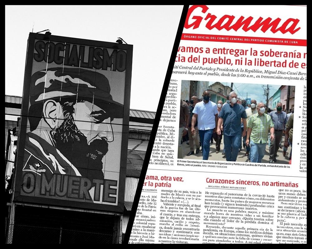Medios estatales en Cubaa