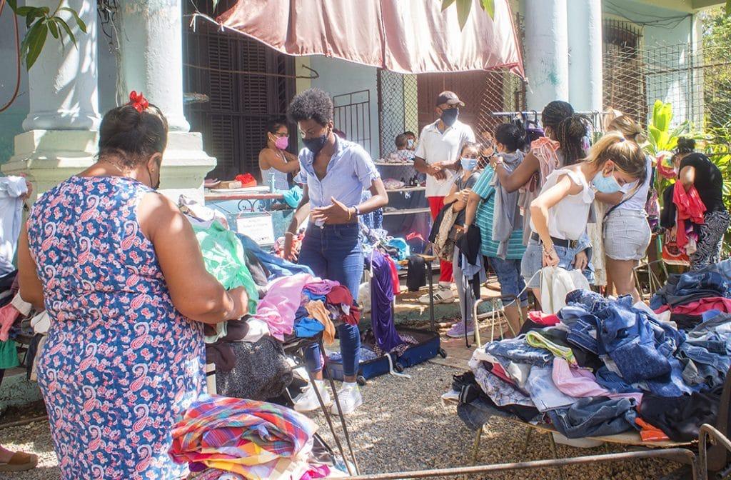 Venta de garaje en Cuba