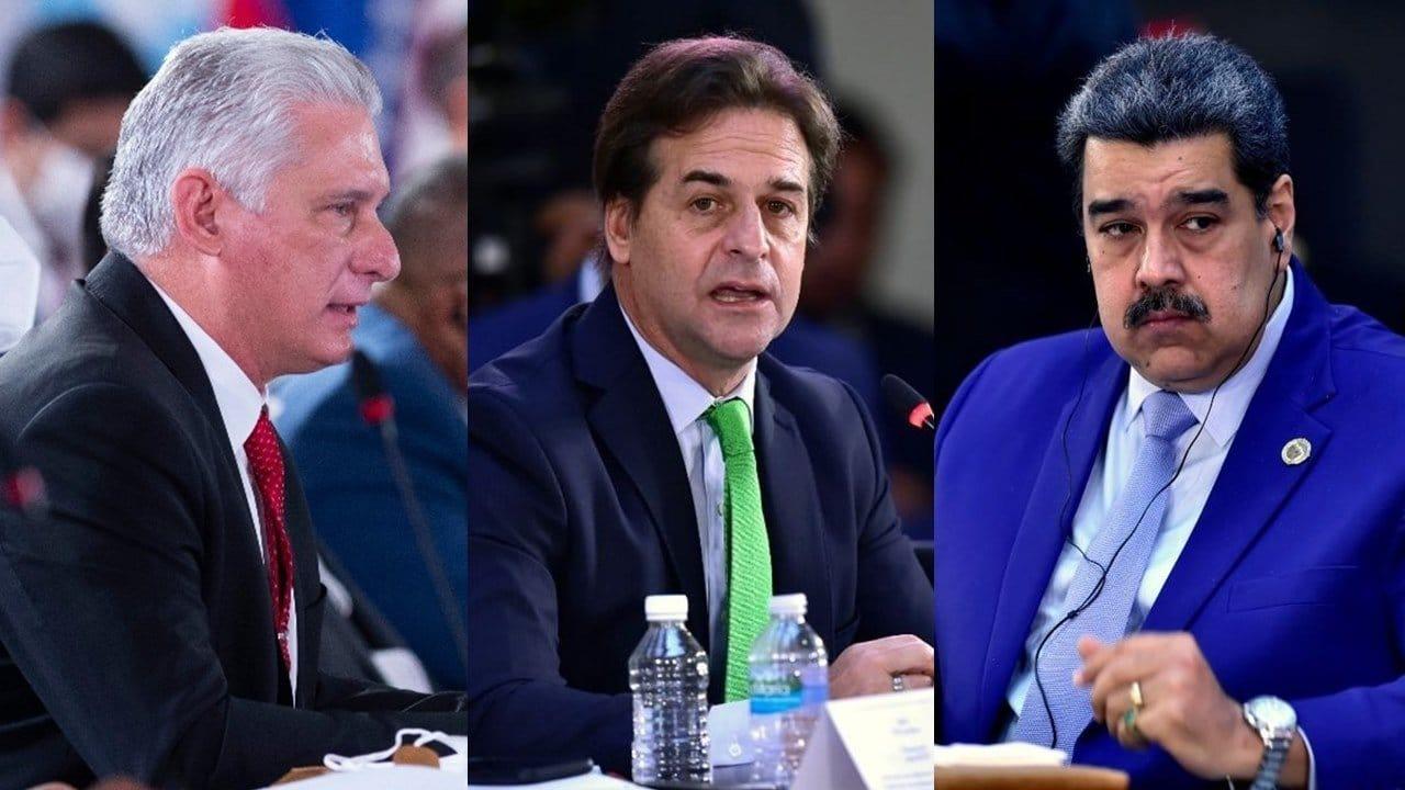 Presidente de Uruguay arremete contra Miguel Díaz-Canel y Nicolás Maduro en Cumbre CELAC | Cuba Noticias 360