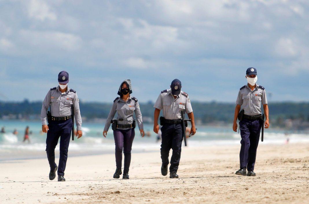 Seguridad en playas cubanas