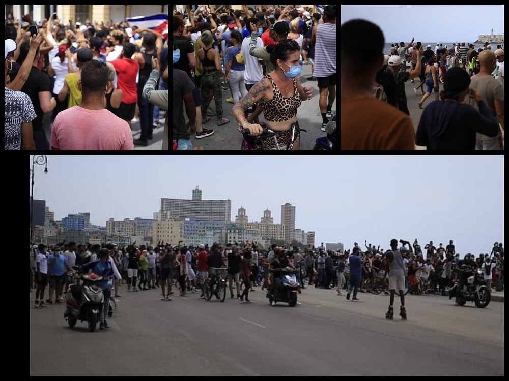 marcha cívica