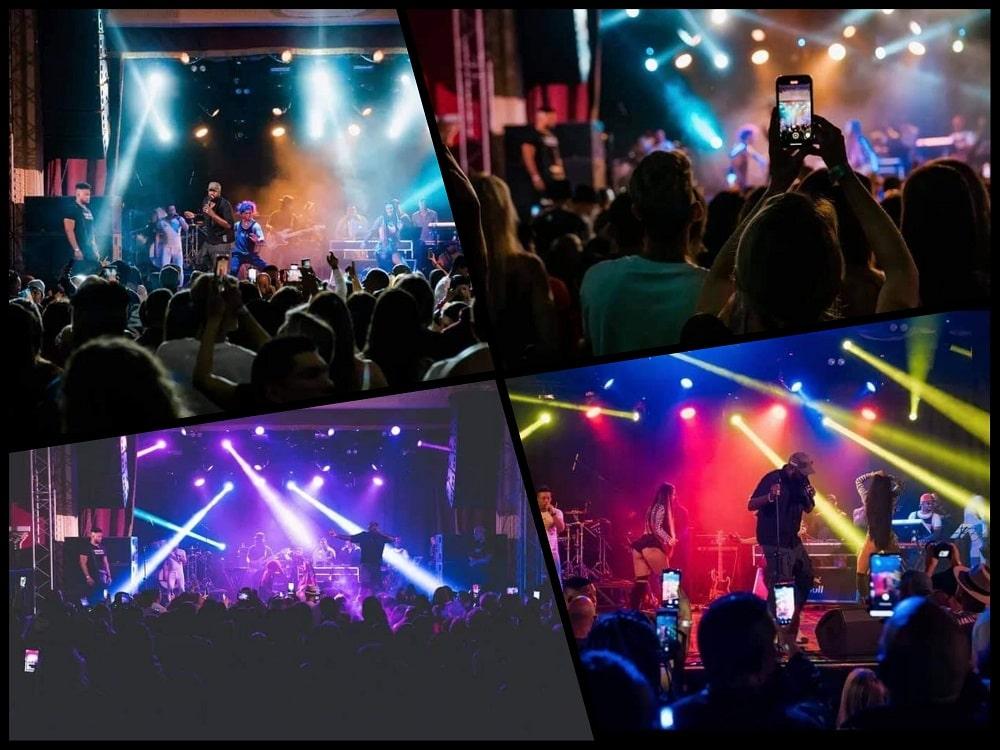 el micha en concierto en rusia