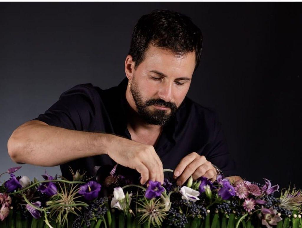 Florista cubano en Barcelona